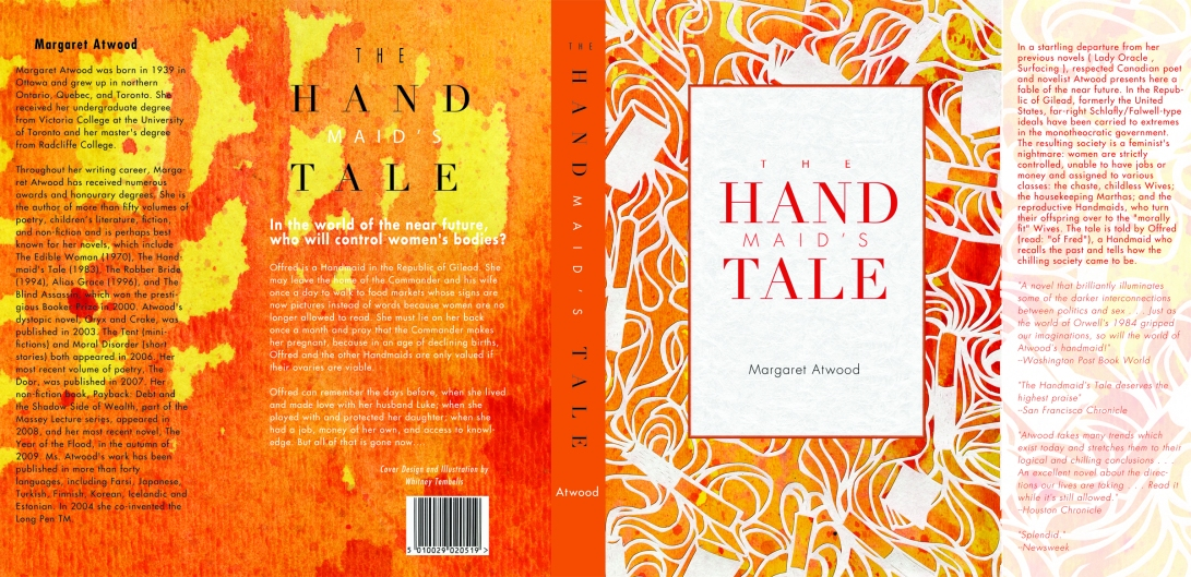 The Handmaids Tale Book Wrap