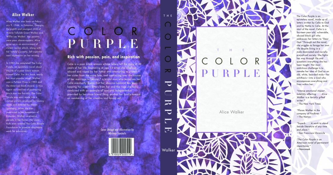 The Color Purple Book Wrap