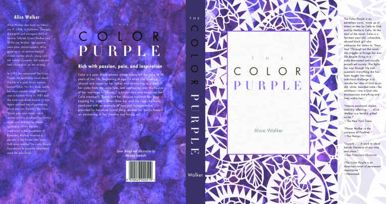 The Color Purple Book Wrap