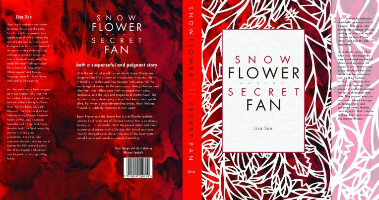 Snowflower and the Secret Fan Book Wrap